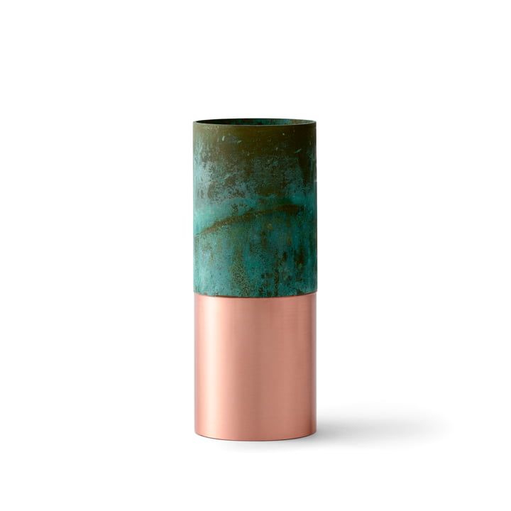 &Tradition - True Colour Vase LP3, green copper