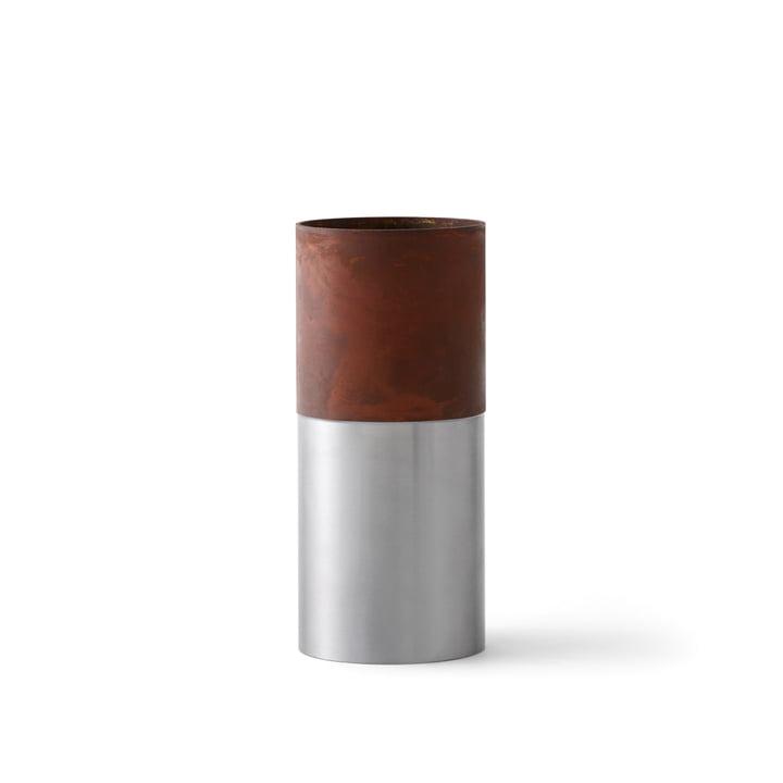 &Tradition - True Colour Vase LP7, brown steel