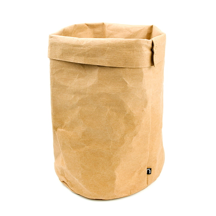 Storage paper bag by Novoform in natural
