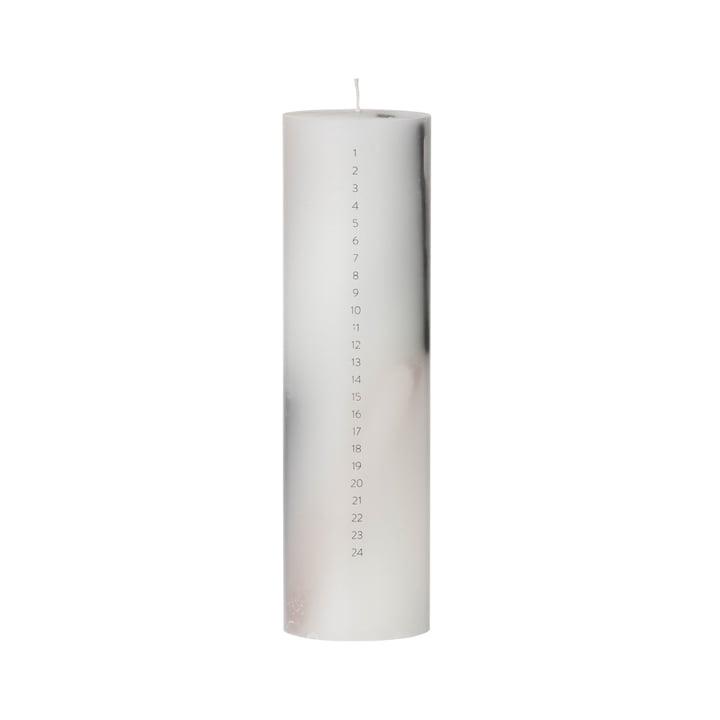 ferm Living - Calendar Candle, grey