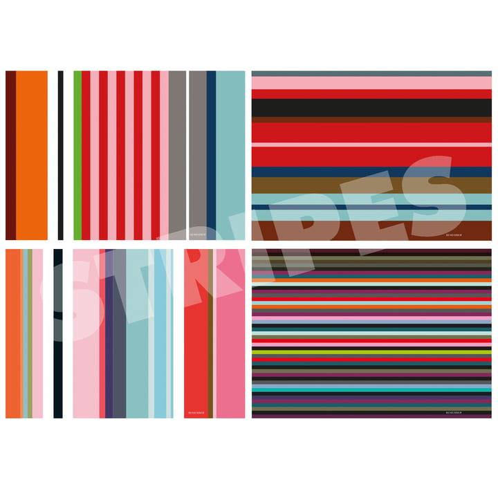 """The Placemat Block """"Stripes"""" by Remember"""