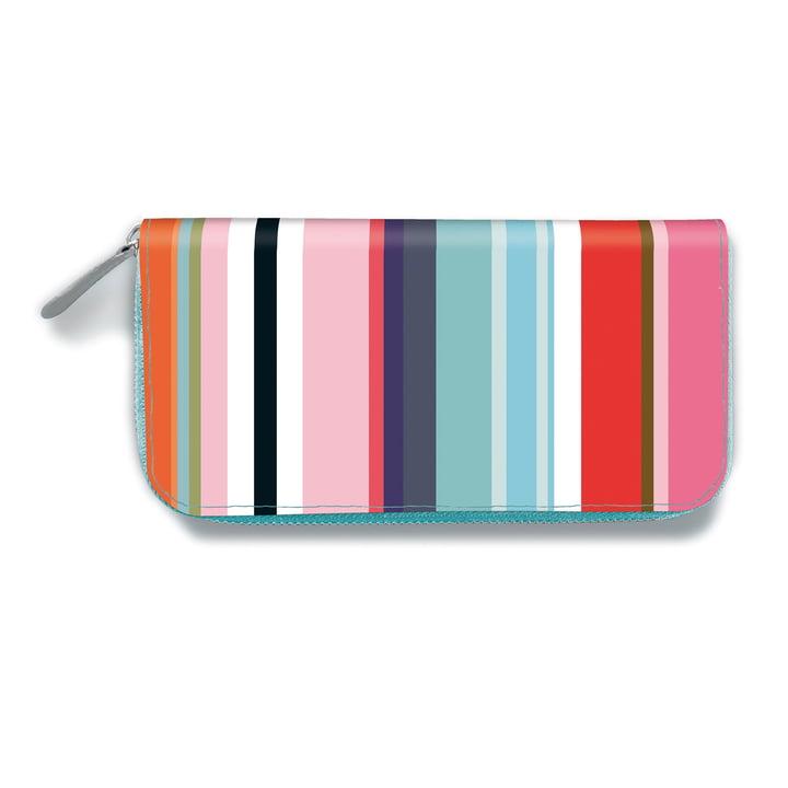 Remember - Women`s Wallet, Colour Stripes