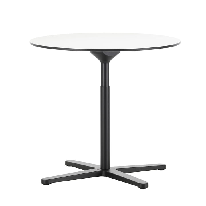 Super Fold Table Ø 796 mm by Vitra in white