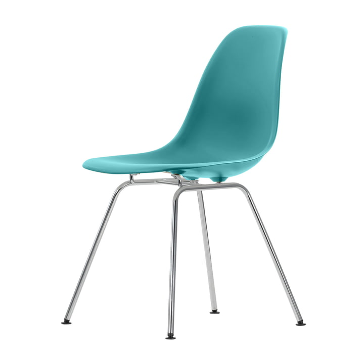 Eames Plastic Side Chair DSX von Vitra in ocean