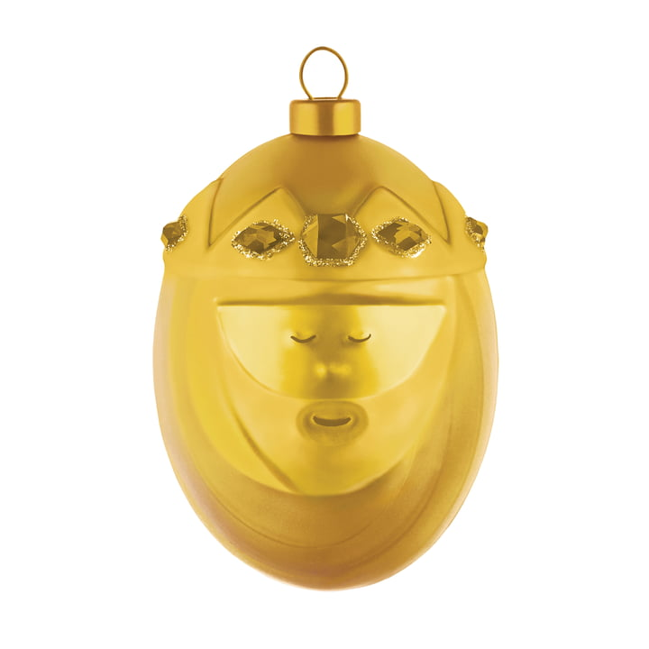 Melchiorre Christmas Bauble by A di Alessi