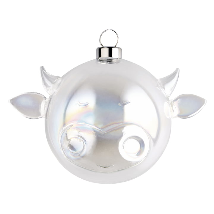 Ox Christmas Tree Bauble by A di Alessi