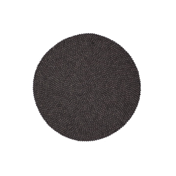 Hugo carpet round by myfelt, 90 cm