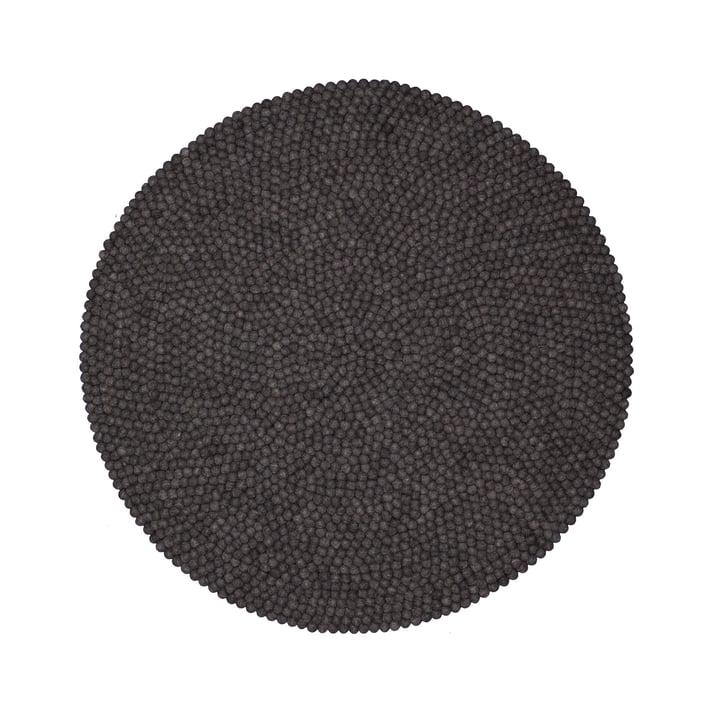 Hugo carpet round by myfelt, 140 cm
