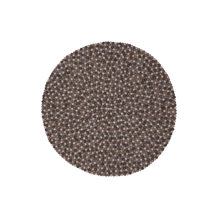 Néla carpet round by myfelt, 90 cm