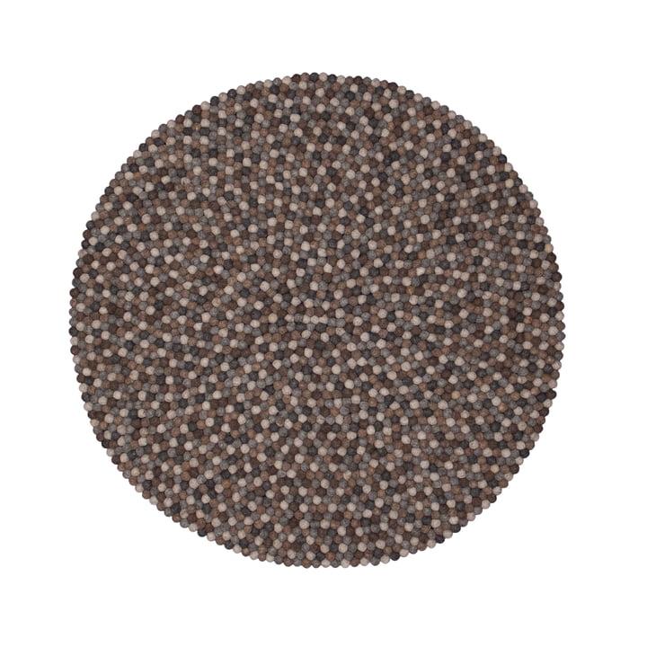 Néla carpet round by myfelt, 140 cm