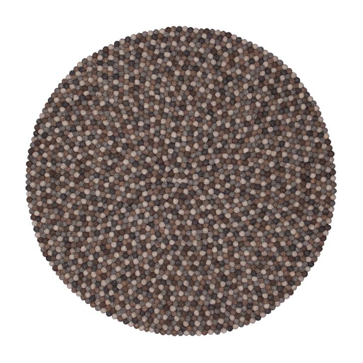 Néla carpet round by myfelt, 200 cm