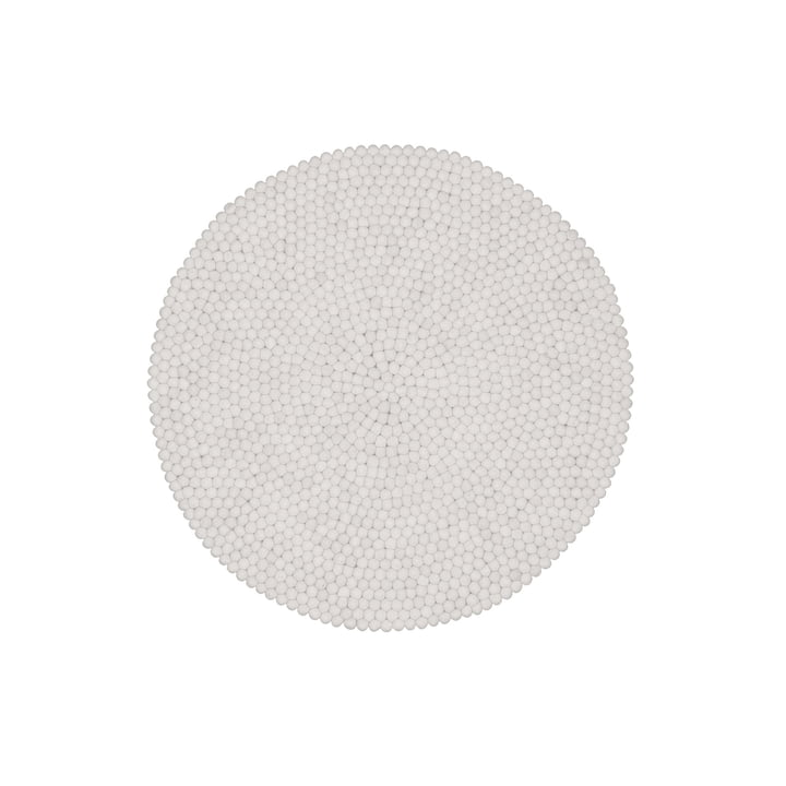 lin a round rug by myfelt at the shop. Black Bedroom Furniture Sets. Home Design Ideas