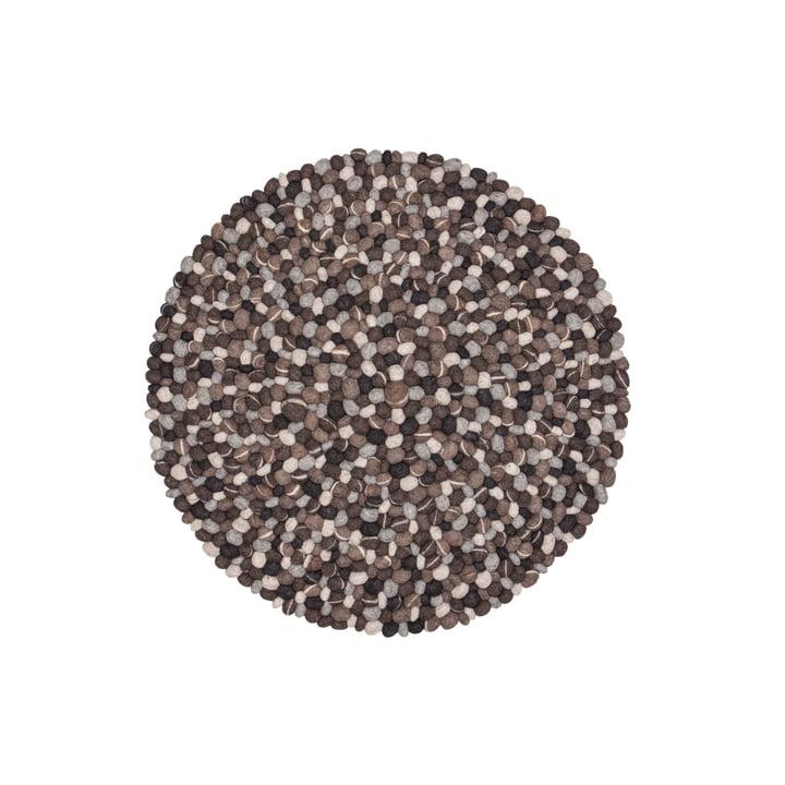 Hardy carpet round by myfelt, 90 cm