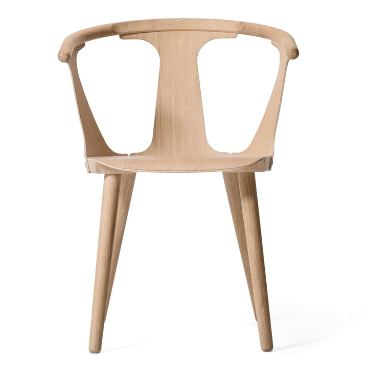 In Between Chair SK1 by & Tradition in white oiled oak