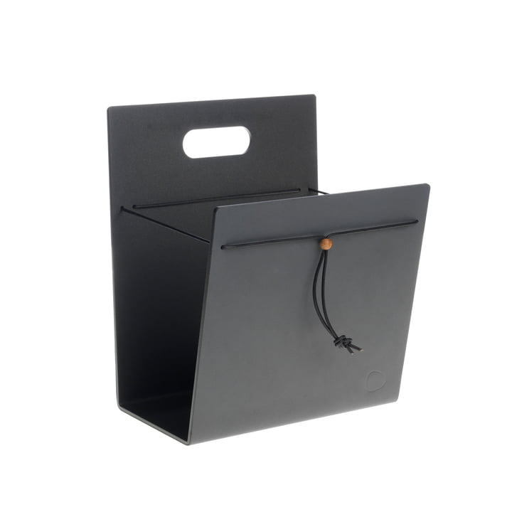 Magazine holder M by LindDNA in Nupo anthracite
