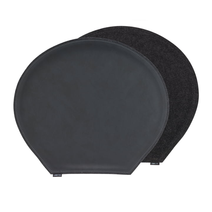 Cushion LindDNA in black and anthracite