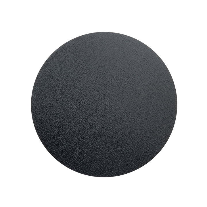 LindDNA - Hot Mat Circle S table pad Ø 24 cm, Bill black
