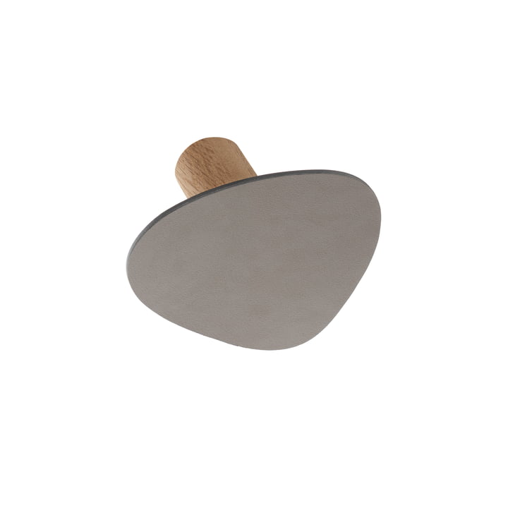 LindDNA - Wall Dots wall hooks S in Nupo light grey