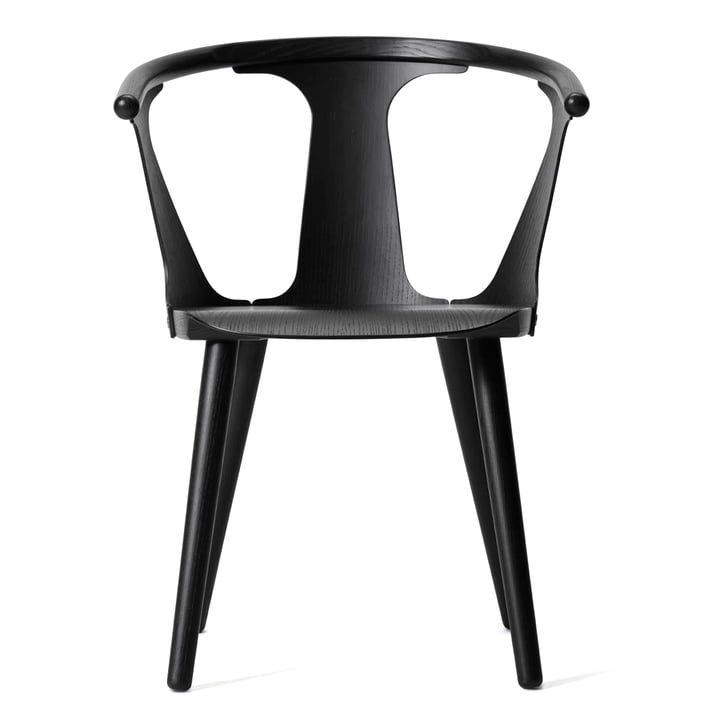 In Between Chair SK1 by & Tradition in oak black stained (RAL 9005)