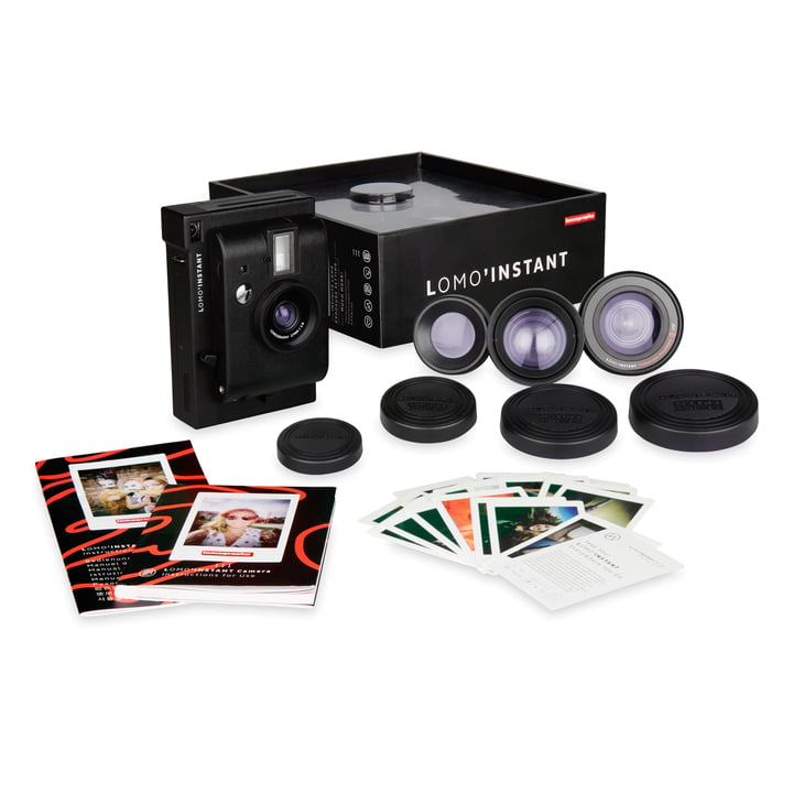 Lomo 'Instant Camera Lens Kit by Lomography in black