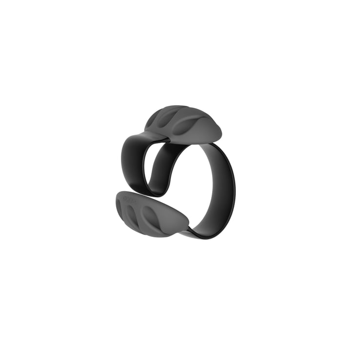 Desk cable holder by Bobino in black