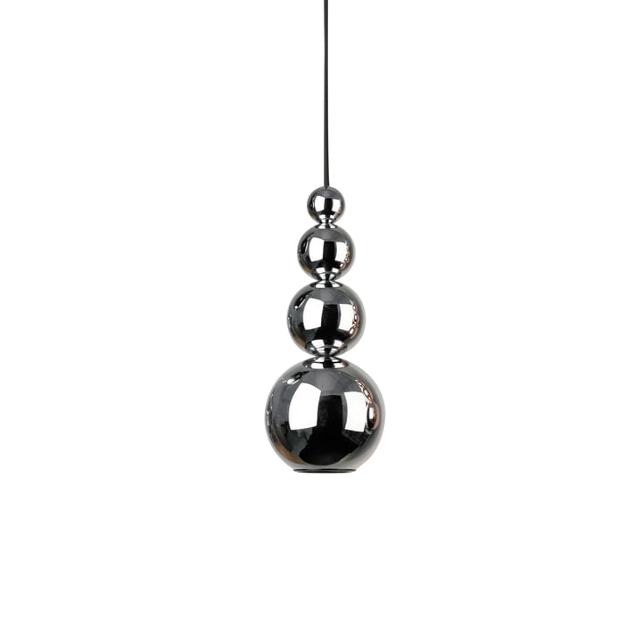 Bubble pendant lamp by Innermost in chrome