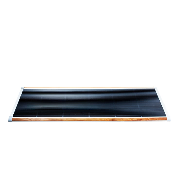 Rizz - Doormat The New Standard 120 x 70 cm, silver teak