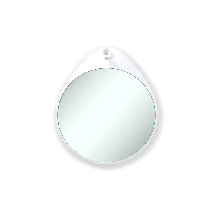 Rizz - The Egg mirror in white