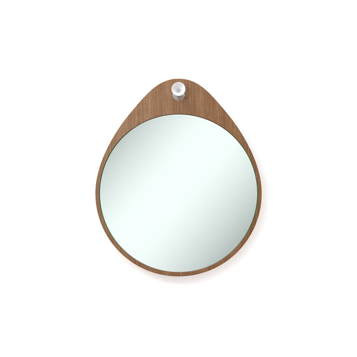 Rizz - The Egg mirror in teak