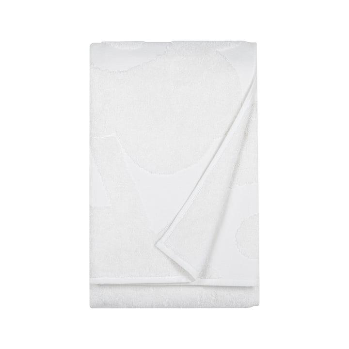 Marimekko - Unikko Solid Bath Towel 75 x 150 cm in white