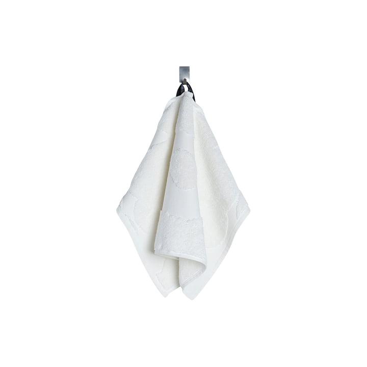 Marimekko - Unikko Solid Guest Towel 30 x 50 cm in white