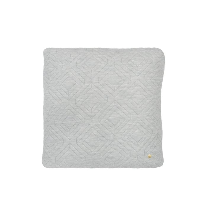 Cushion 45 x 45 cm by ferm Living in Light Grey
