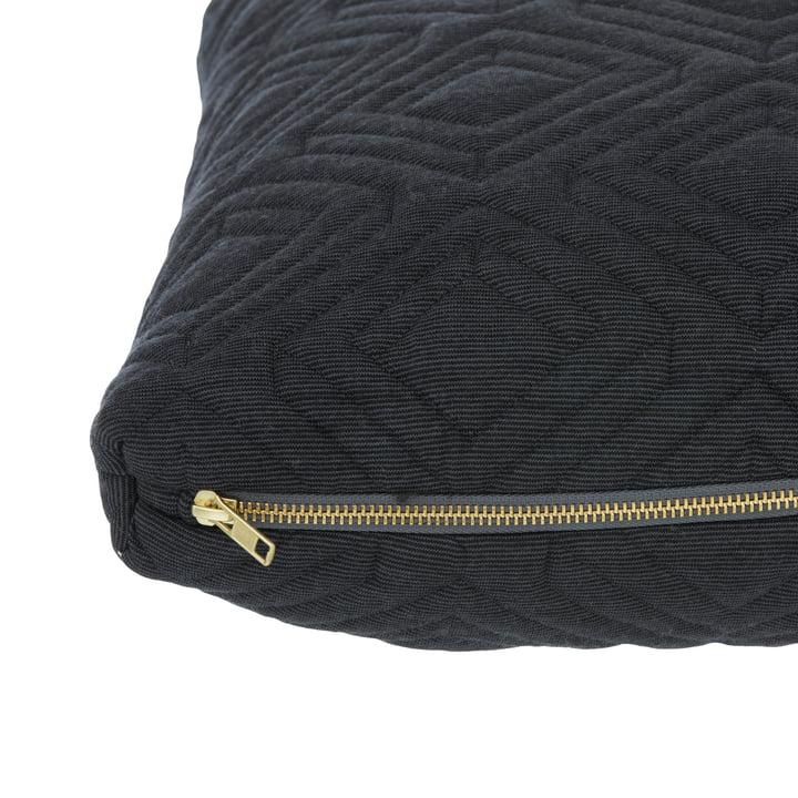 Cushion by ferm Living in Dark Grey