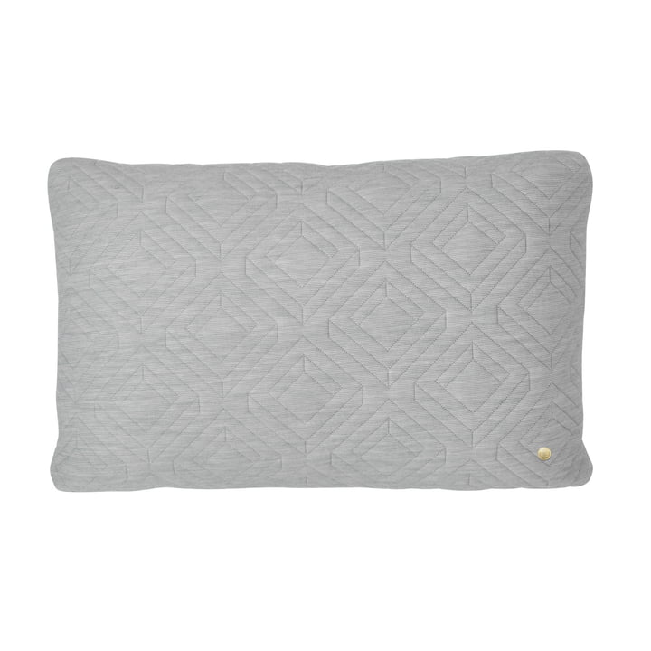 Cushion 60 x 40 cm by ferm Living in Light Grey
