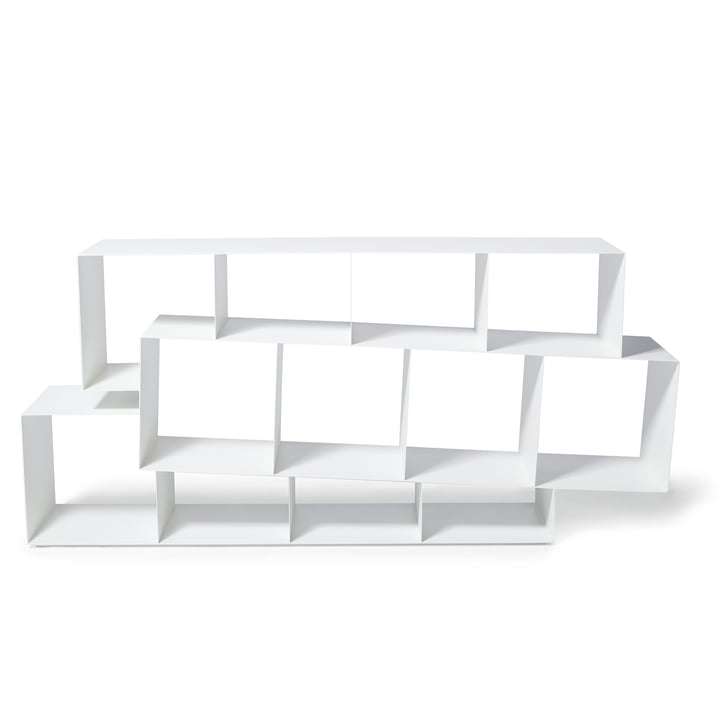 Squilibri Bookshelf by Skitsch in white