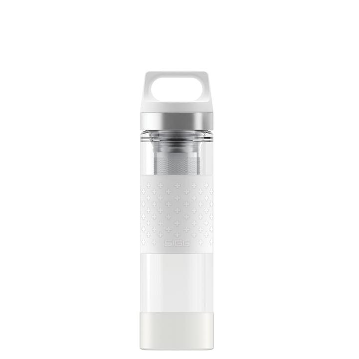 Sigg - Hot & Cold Glass WMB 0.4 L, white