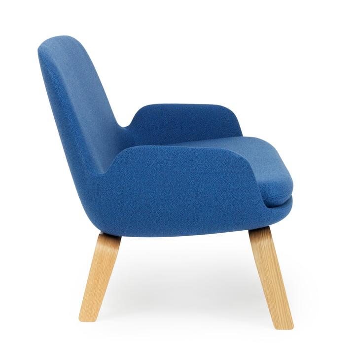 Era Sofa by Normann Copenhagen made from oak in Fame Hybrid blue