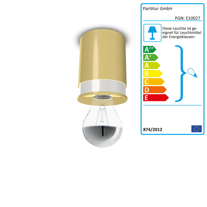 Ceiling lamps Colours by Twister Lighting in yellow
