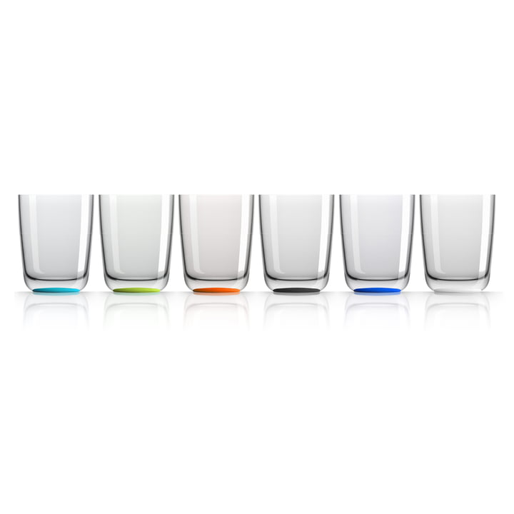 Long Drink Glass 425 ml (set of 4) by Palm Products