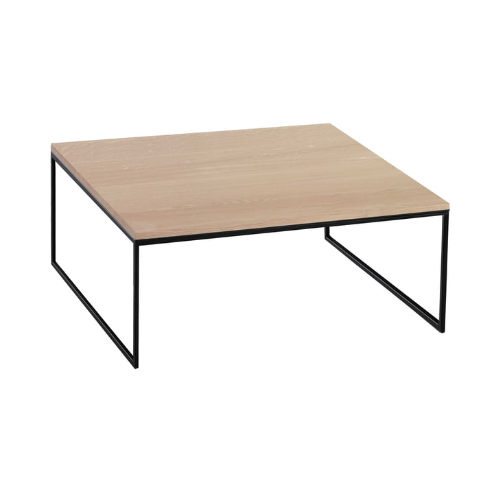 Coffee table Less H 15/2 by Hans Hansen made from solid oak