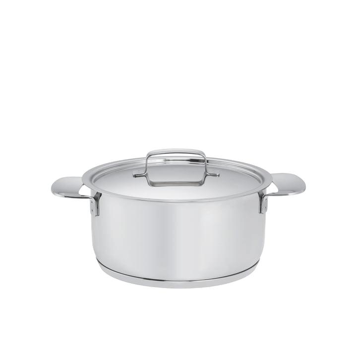 Fiskars - All Steel+ Pot with Lid, 2.5 l / Ø 18cm