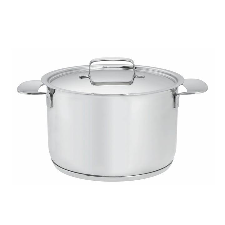 Fiskars - All Steel+ Pot with Lid, 4 l /Ø 20cm
