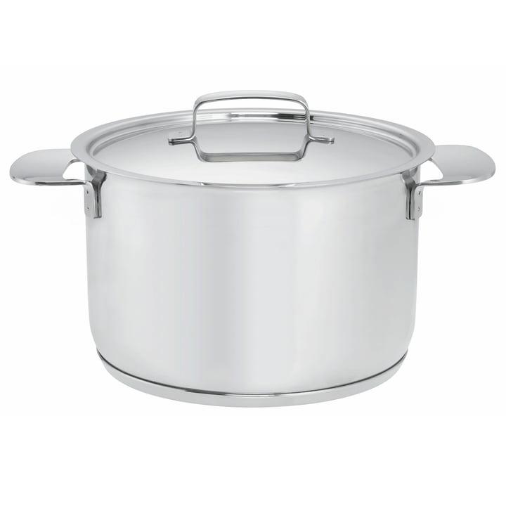 Fiskars - All Steel+ Pot with Lid, 6 l /Ø 24cm
