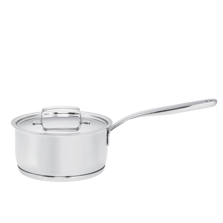 Fiskars - All Steel+ Casserole with handle and lid, 1.5 l / Ø 16cm