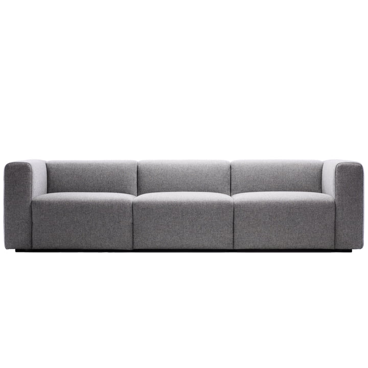 Hay - Mags Sofa, 3-Sitzer, light grey