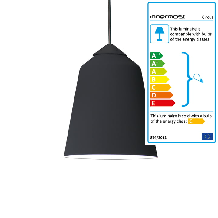 Innermost - Circus 36 Suspension Light black