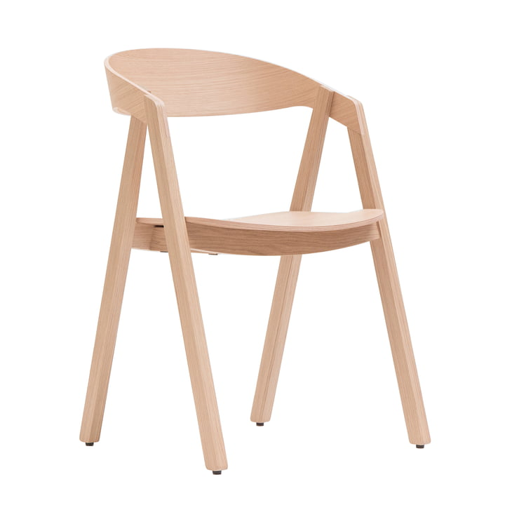 Maigrau - Nardo chair, oak natural, clear varnished