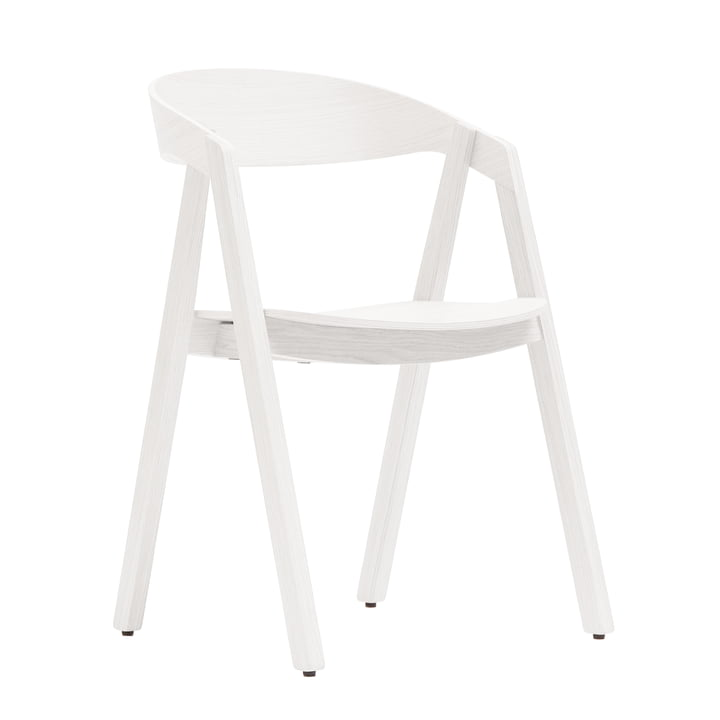 Maigrau - Nardo chair, oak, white varnished