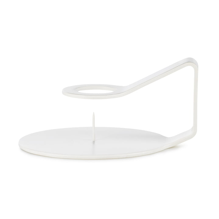 Nocto Candlestick from Normann Copenhagen in white