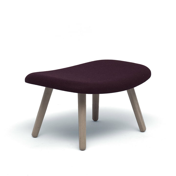 The About An Ottoman AAL03 by Hay with Steelcut 2 (685) Upholstery